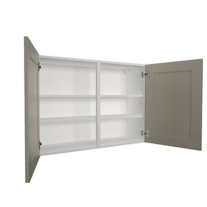 Image for Simply Hygena - Amersham - Grey - 1000mm Wall Cabinet from StoreName