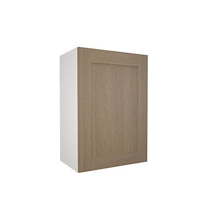 Image for Simply Hygena - Amersham - Oak Shaker - 500mm Wall Cabinet from StoreName