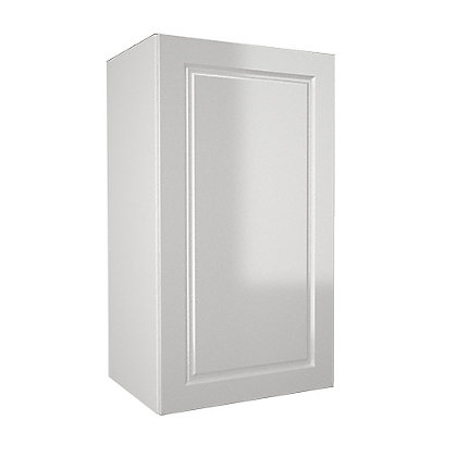 Simply hygena elverson gloss white 400mm wall cabinet for Homebase kitchen cabinets