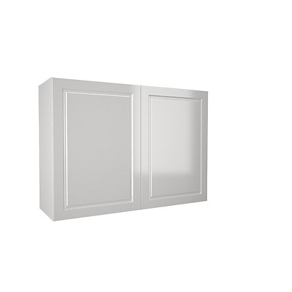 Image for Simply Hygena Elverson - Gloss White - 1000mm Wall Cabinet from StoreName