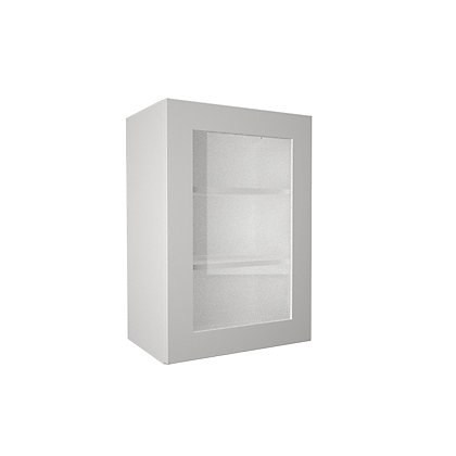 Image for Simply Hygena - Gloucester - White - 500mm Glass Wall Cabinet from StoreName
