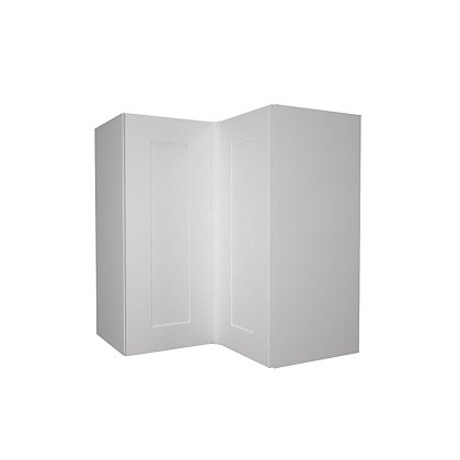Image for Simply Hygena - Gloucester - White - 635mm Corner Wall Cabinet from StoreName
