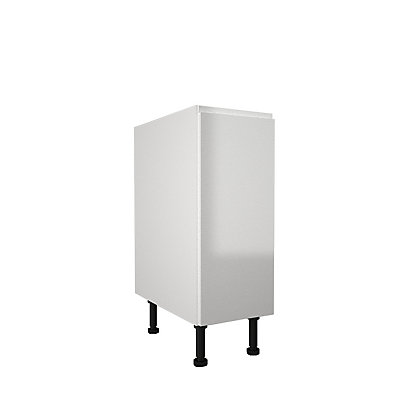 Image for Simply Hygena Kensal - Gloss White - 300mm Highline Base Unit from StoreName