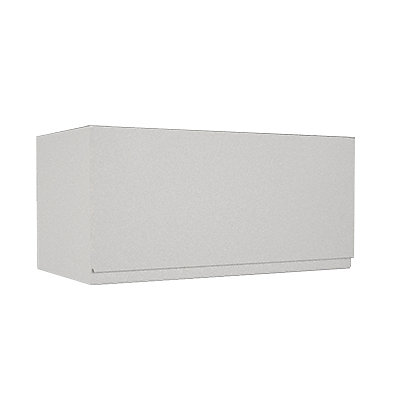 Image for Simply Hygena Kensal - Gloss White - 600mm Cooker Hood Cabinet from StoreName