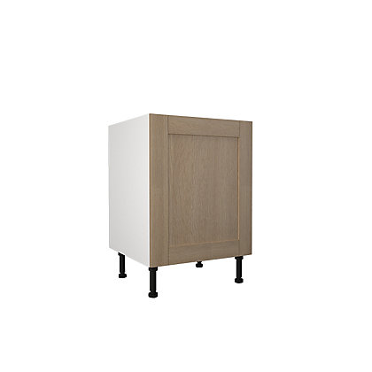Image for Simply Hygena Southfield - Oak - 600mm Highline Base Unit from StoreName
