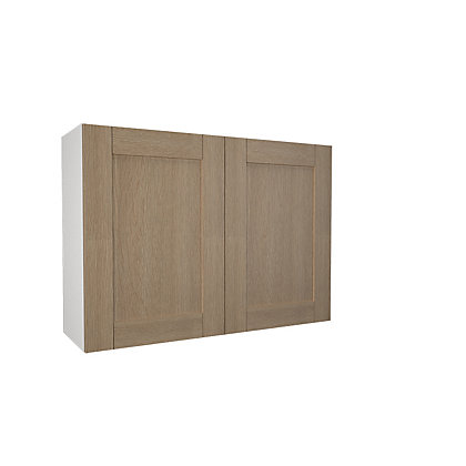 Image for Simply Hygena Southfield - Oak - 1000mm Wall Cabinet from StoreName