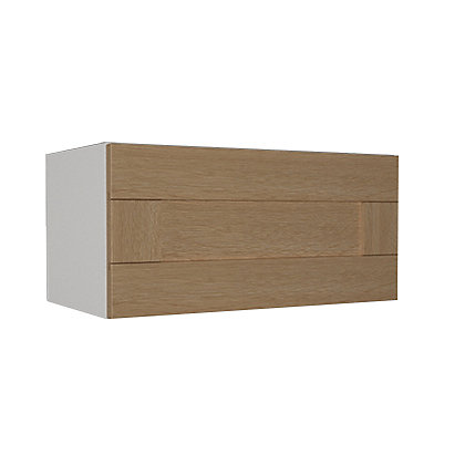 Image for Simply Hygena - Southfield - Oak - 600mm Cooker Hood Cabinet from StoreName