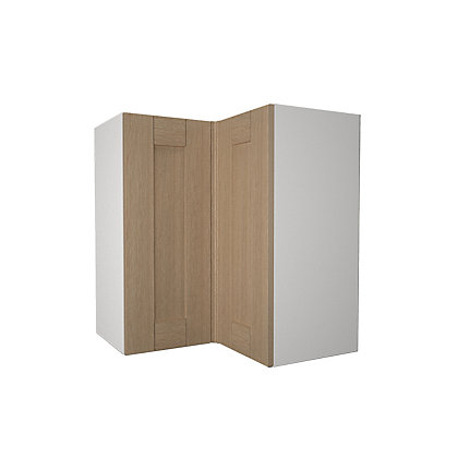 Image for Simply Hygena - Southfield - Oak - 635mm Corner Wall Cabinet from StoreName