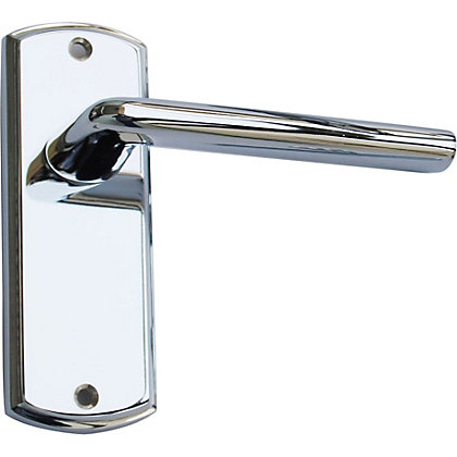 Image for Alina Lever Latch Short - Polished Chrome from StoreName
