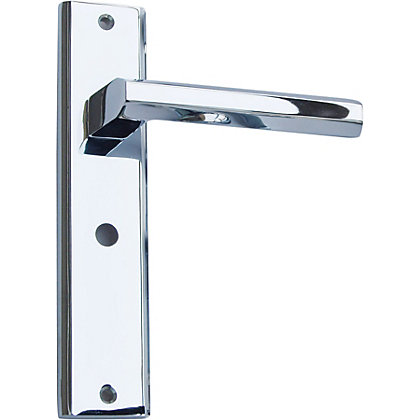 Image for Denzel Bathroom Lock - Polished Chrome from StoreName