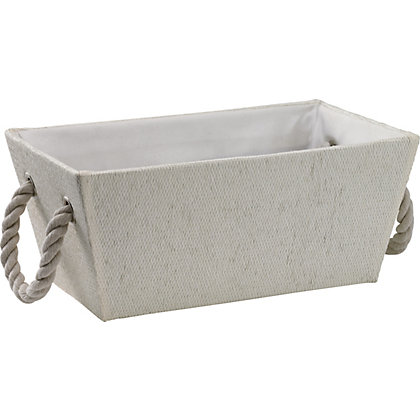 Image for White Basket from StoreName