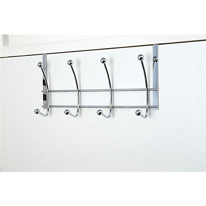 Image for Set of Four Hook-Over Hooks Ball Chrome from StoreName