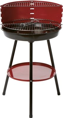 Red Barbecue Stand - Homebase
