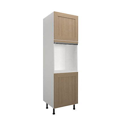 Image for Simply Hygena - Amersham - Oak Shaker - 600mm Single Oven Housing from StoreName