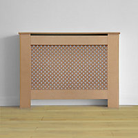 Oxford Radiator Cabinet Unfinished MDF - (W)110 x (H)81.5 x (D)19cm