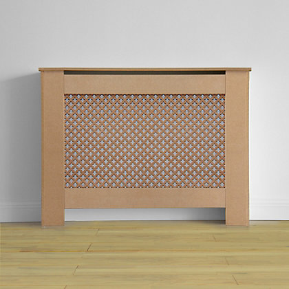 Image for Oxford Radiator Cabinet - Unfinished MDF - (W)110 x (H)81.5 x (D)19cm from StoreName