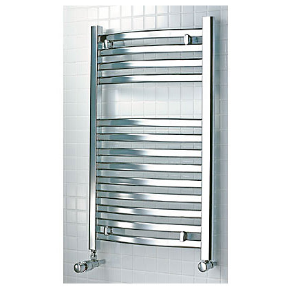 Image for Tuscana Heated Towel Rail - Chrome 800 x 500mm from StoreName