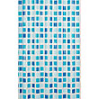 Mosaic Shower Curtain - Blue