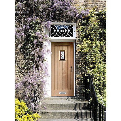 Image for Chancery Triple Glazed Oak External Door - 762mm Wide from StoreName