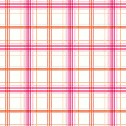 Image for Arthouse Check Mate Wallpaper - Pink, Orange from StoreName