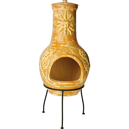 Image for La Hacienda Serena Clay Chimenea from StoreName