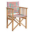 Habitat Africa Patterned Directors Chair