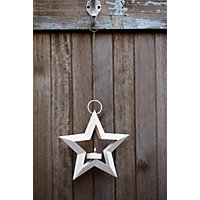 Star Hanger Tea Light Holder - Small