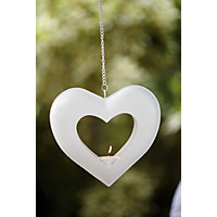 Heart Hanger Tea Light Holder - Small
