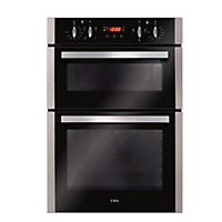 CDA DC940SS Built in Double Oven - Stainless Steel