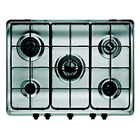 Indesit PIM 750 AST IX Hob - Stainless Steel