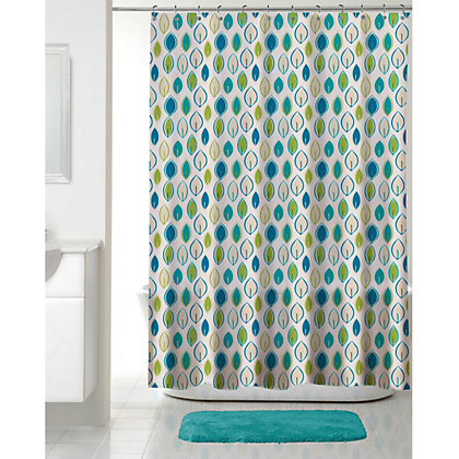 Image for Chloe Shower curtain - Multi - 180 x 180cm from StoreName