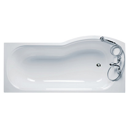 Image for Ideal Standard Accent Shower Bath Left Hand - 1700mm from StoreName