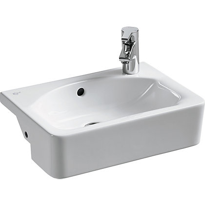 Image for Ideal Standard Senses Cube Short Projection Basin - 50cm from StoreName