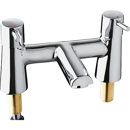 Image for Ideal Standard Senses Sphere Bath Filler - 2 Tap Holes from StoreName