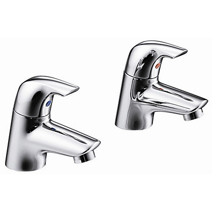 Image for Ideal Standard Ceraplan Basin Pillar Taps from StoreName