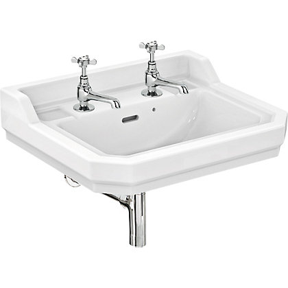 Image for Ideal Standard Waverley 45cm Cloakroom - 2 Tap Hole Basin from StoreName