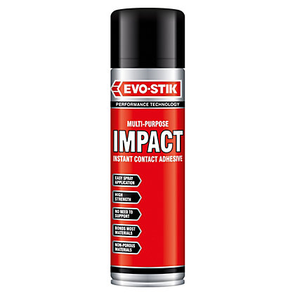 Image for Evo-Stik Impact Spray Adhesive - 500ml from StoreName
