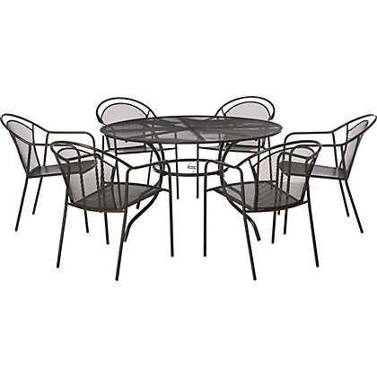 Montreal 6 Seater Garden Furniture Set At Homebase Be Inspired And Make Your House A Home