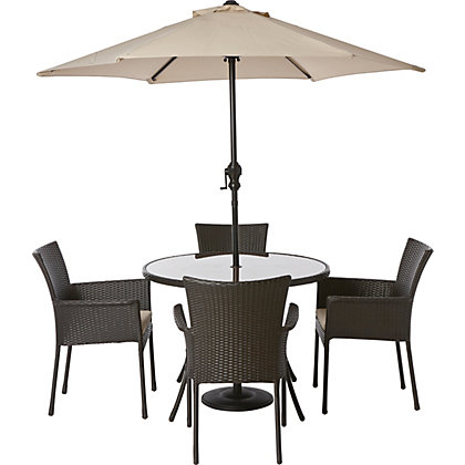 Image for Panama 4 Seater Garden Furniture Set from StoreName