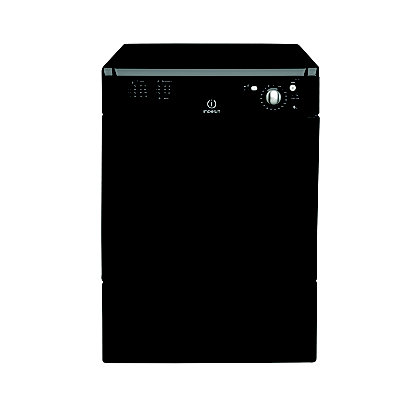 Image for Indesit IDC8K Tumble Dryer Condenser - Black from StoreName