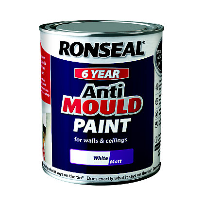 Image for Ronseal Anti Mould Paint Matt 750ml from StoreName