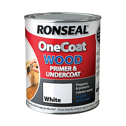 Image for Ronseal One Coat Wood Primer & Undercoat - 2.5L from StoreName