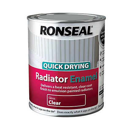 Image for Ronseal Radiator Clear Enamel Gloss - 750ml from StoreName