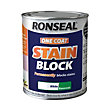 Ronseal One Coat Stain Block - White - 750ml