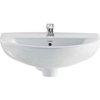 Homebase Bathroom Sinks : Ceramic Wall Hung Sink Homebase.co.uk