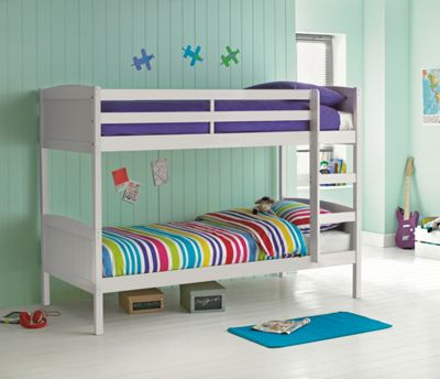 Amy White Bunk Bed With Bibby Mattress