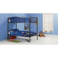 Samuel Single Black Bunk Bed Frame