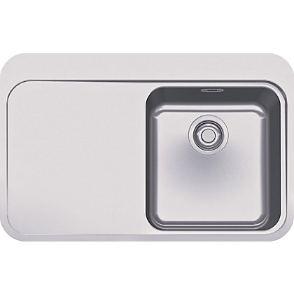 Image for Franke Sinos 211 Stainless Steel Kitchen Sink - 1 Bowl from StoreName