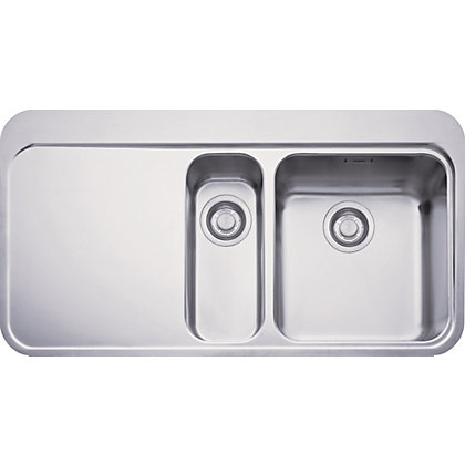 Image for Franke Sinos 251 Stainless Steel Kitchen Sink - 1.5 Bowl from StoreName