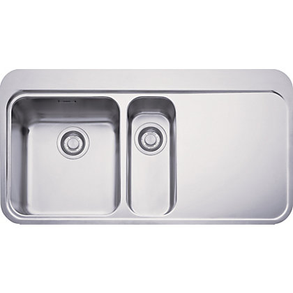 Image for Franke Sinos 251 Stainless Steel Kitchen Sink- 1.5 Bowl from StoreName